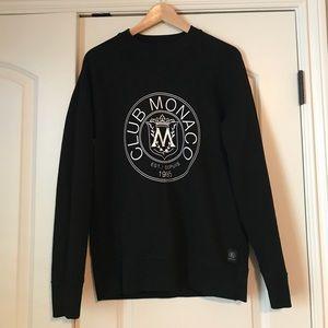 Club Monaco unisex logo sweater
